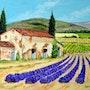 Mas en Provence. Andre Blanc