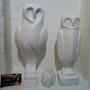 Sculpture chouette. Moretti Alain