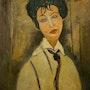 Mujer con corbata negra. Mussol