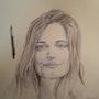 Louise. Forangeart F. Baldinotti Peintre De l'air