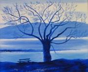 L'arbre bleu.