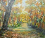 Forêt à l'automne.