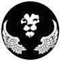 Lion projet logo pour un club aèromodélisme 1. Forangeart F. Baldinotti Peintre De l'air