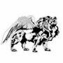 Lion projet logo pour un club aéromodélisme 3. Forangeart F. Baldinotti Peintre De l'air