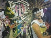 Fiesta de la virgen guadalupe en méjico. Orza