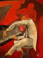 Le pianiste à l'index-.