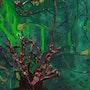 Le Royaume des Algues (Détail 2). Yves Ferrec
