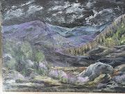 Montagnes en cévennes n° 1. Colette