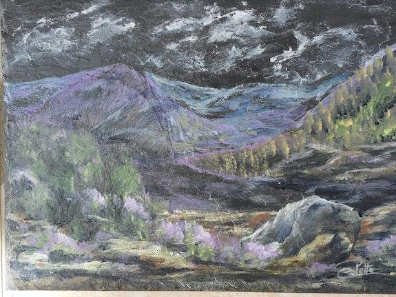 Montagnes en cévennes n° 1. Colette Colette