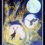 Rencontre au clair de Lune. Claude Valery