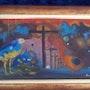 Oiseau bleu. Haitian Art Gallery