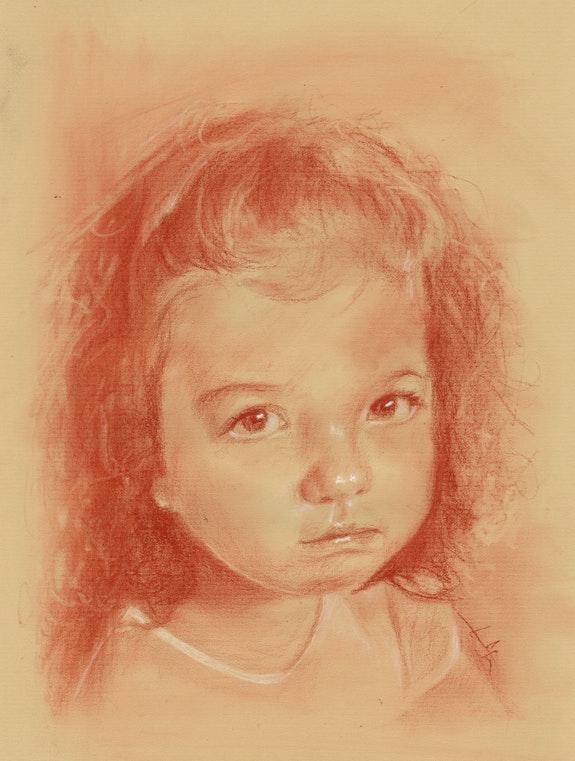 Portrait fillette par philippe Flohic 020715 (cc). Philippe Flohic Philippe Flohic