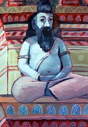 Hindu Effigy. Philip Compton