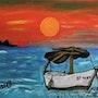 La barca, the boat. James Rossell