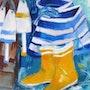 Les bottes de bateau. Martine Brandolin