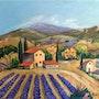 Mas en Provence dans le Var. Andre Blanc