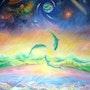 La danse de dauphins. Marwan Abousekke