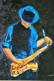 Dans la série «jazz», le joueur de trombone.