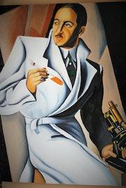 Le Docteur Boucard d'après l'oeuvre de Tamara De Lempicka..
