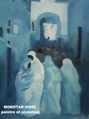 Mokhtar hidri peintre.
