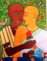 Expression of love. V. V. Swamy