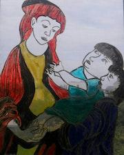 Marie a l'enfant.