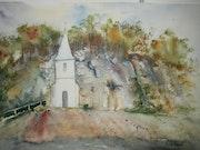 La chapelle Ste Radegonde.