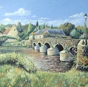 Le Pont d'Asnière sur Vègre.