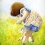 Cueillette du printemps. Isabelle Moreno