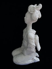 Geiko (geisha). Barake Sculptor