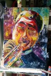 L'homme à la trompette.