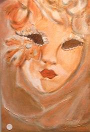 Venitian mask - Masque vénitien.