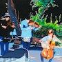 Los músicos. Paco Morales
