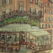 Café de Flore st Germain Paris.