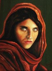 La petite Afghane dans la série «enfants du monde»..