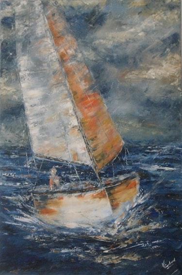 Entre ciel et mer. Valérie Crochard