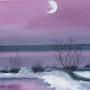 Moon song. Ghislaine Phelut