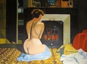 Der letzte Weynfeldt (Originaltitel:Femme nue devant une salamandre).