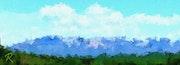 La st. Victoire sud-est. Raymond Marcel Depienne