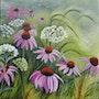 Le printemps au jardin. Marie Colin