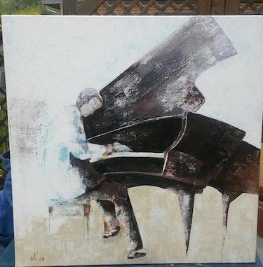 L'homme au piano. Christine Venniro