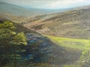 Kyogle Loop - Representational Landscape. Victoria Eyre