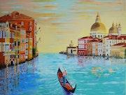 Venise le grand canal.