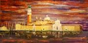 Venise soir et lumière (vue 2).