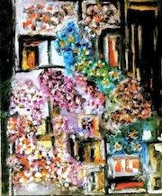 Maison florale.