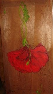 Une femme fleur. Zedl
