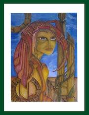La pêtresse du peuple Aldebaran.