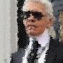 Karl Lagerfeld. Raymond Marcel Depienne