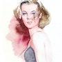 Portrait de Romy Schneider. Paul Lebrun