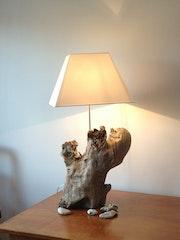 Driftwood lamp. Madame
